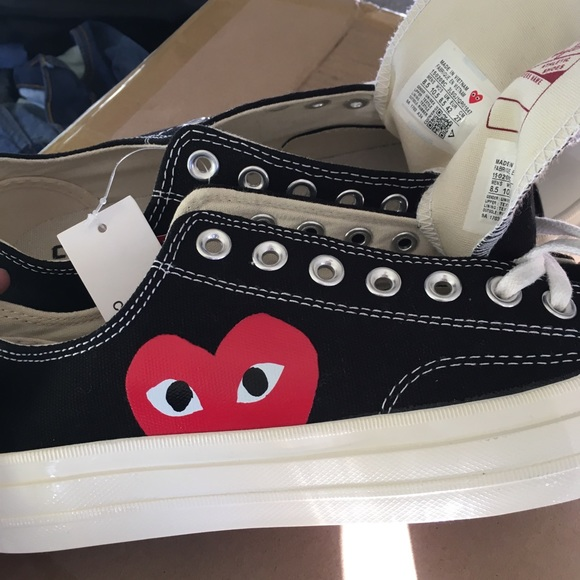 PLAY x Converse Chuck Taylor® Low Top Sneaker 600c7f539